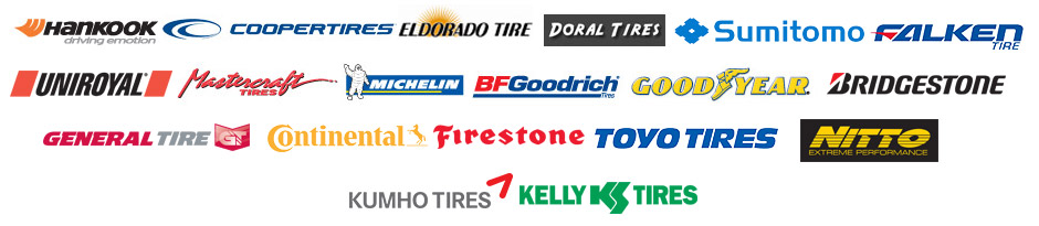 Tire Brands in Auburn CA, Sacramento CA, and Rocklin CA at Souza's Tire Service