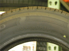 Tires 101 On Tire Sidewall Markings Souza S Tire Service