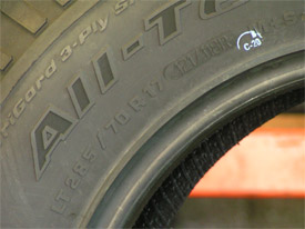tires 101 on tire sidewall markings souza 39 s tire service. Black Bedroom Furniture Sets. Home Design Ideas