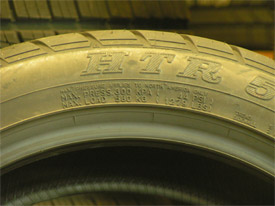 What Does Speed Rating Mean On Tires >> Tires 101 on Tire Sidewall Markings :: Souza's Tire Service